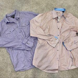 Men's button up shirt bundle
